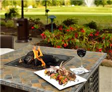 Alexandra's Restaurant - Outdoor Firepit Overlooking Original Course