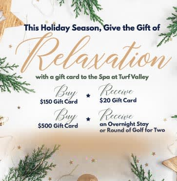 This Holiday Season - Give the Gift of relaxation!