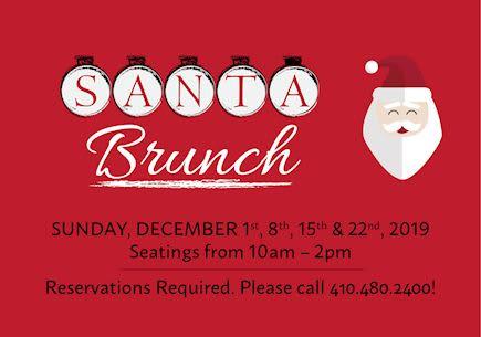 Santa Brunch at Turf Valley Resort