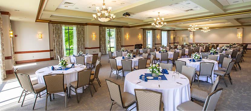 Turf Valley Resort Meetings Waterford Ballroom at Maryland
