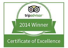 Turf Valley Resort Awarded 2014 TripAdvisor Certificate of Excellence