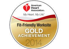 Turf Valley Resort Awarded Gold Level of American Heart Association's Fit-Friendly Worksites Program