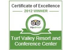 Turf Valley Resort Resort Earns 2012 TripAdvisor Certificate of Excellence