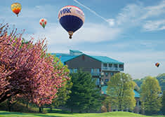 Turf Valley Resort Resort Flies Up, Up, And Away With Their Annual Three-Day Preakness Celebration Hot Air Balloon Festival
