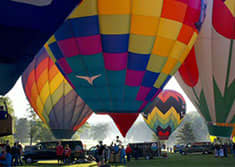 Turf Valley Resort Resort Rises to the Occasion with Annual Three-Day Preakness Hot Air Balloon Festival
