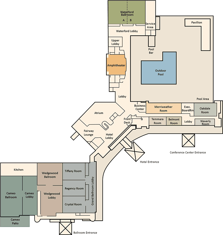 Turf Valley Floor Plans - Main Level