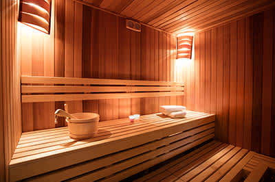Sauna + Locker Room
