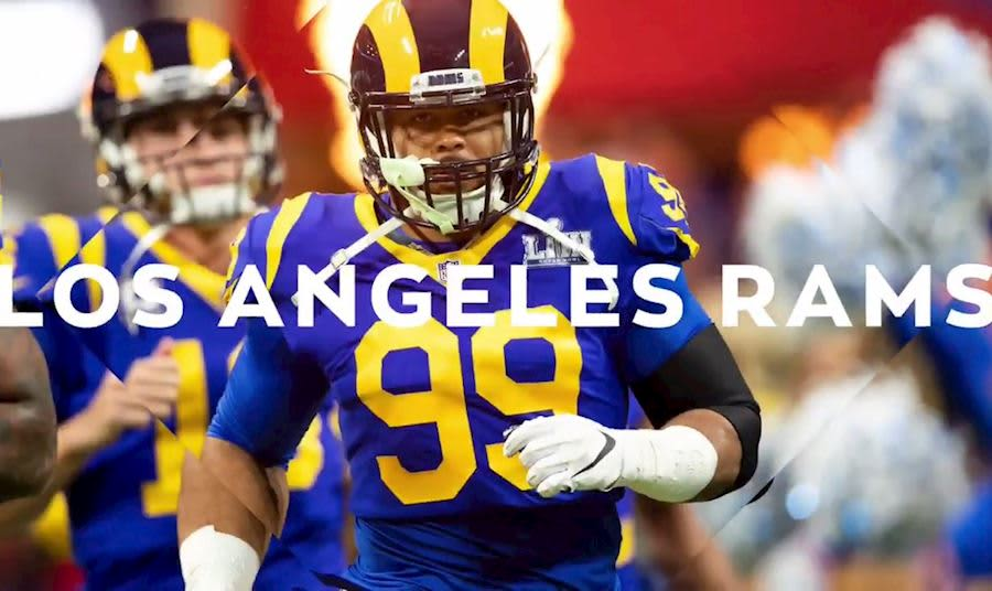 Los Angeles Rams Promotional Photo
