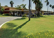 Eco-Friendly Vagabond Inn Hotels at California