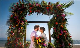 Tropical Wedding at Velas Vallarta