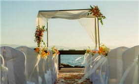 Velas Vallarta Wedding Setup