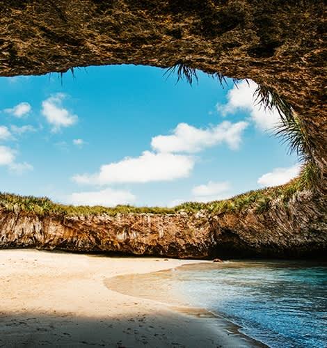 Marietas Islands in Mexico