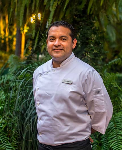 Executive Chef Guillermo Carmona