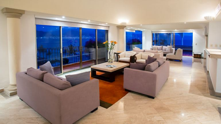 Presidential Suite in Velas Vallarta Hotel, Puerto Vallarta