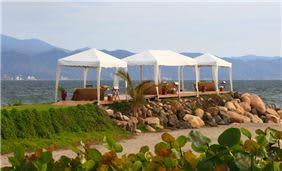 Cabañas para tratamientos Spa en la playa