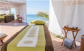 Tratamiento Spa en la playa