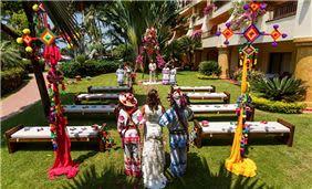 Boda Huichol en Velas Vallarta