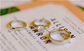 Anillos de boda en Velas Vallarta