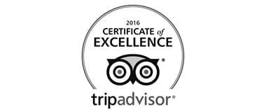 Travelers' Choice Awards 2016