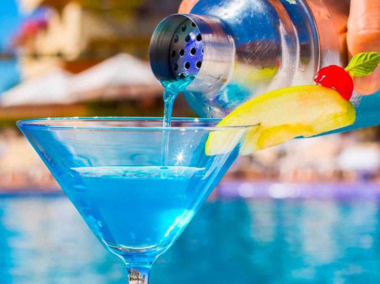 Aqua Bar in Velas Vallarta Hotel, Puerto Vallarta