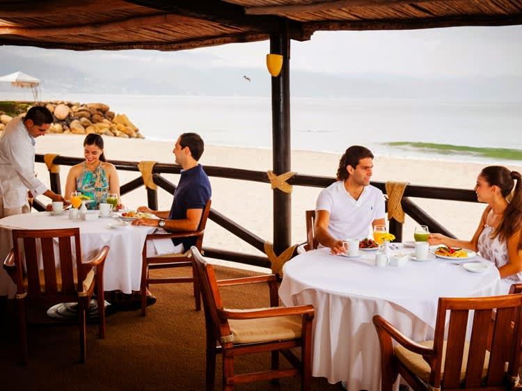 Restaurante La Ribera en el Hotel Velas Vallarta, Puerto Vallarta