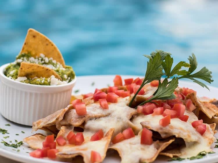 Hotel Velas Vallarta, estaciones de snacks y helados
