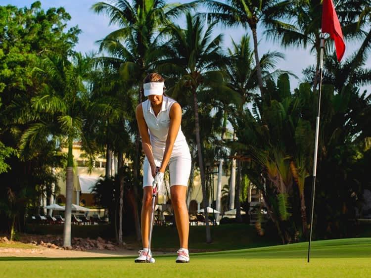 Campos de golf en Puerto Vallarta