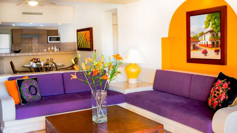 Suite de una habitación en el hotel Velas Vallarta, Puerto Vallarta