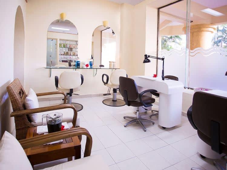 Salón de belleza en el Hotel Velas Vallarta, Puerto Vallarta