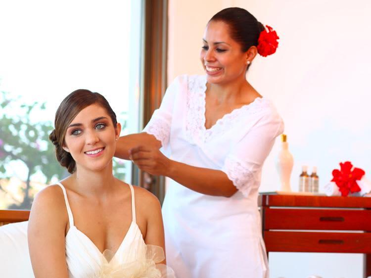 Servicios y tratamientos de salón de belleza en el Hotel Velas Vallarta, Puerto Vallarta