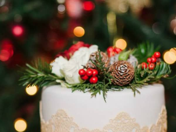 Decor ideas for Christmas Weddings