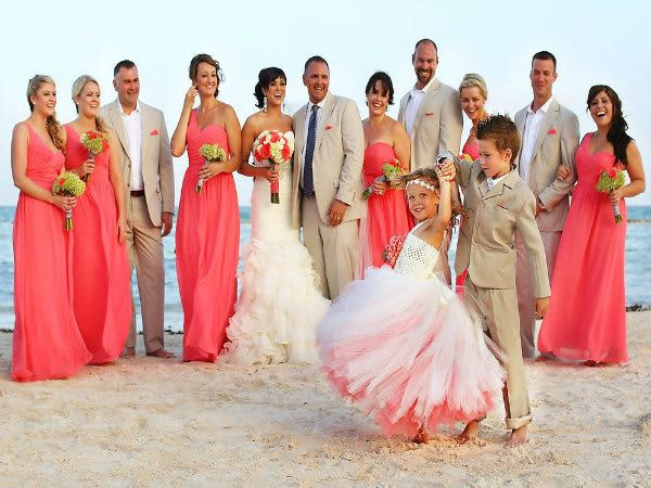 How to Dress Your Kids for a Beach Wedding