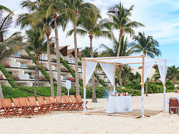 A Mayan Wedding Ceremony at Velas Resorts