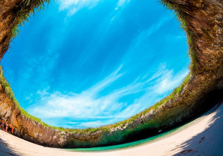 Islas Marietas at Mexico