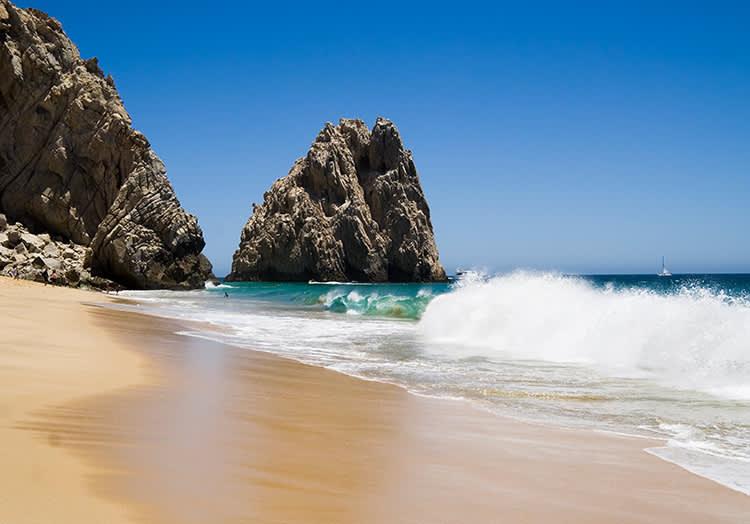 Lover's Beach at Cabo San Lucas