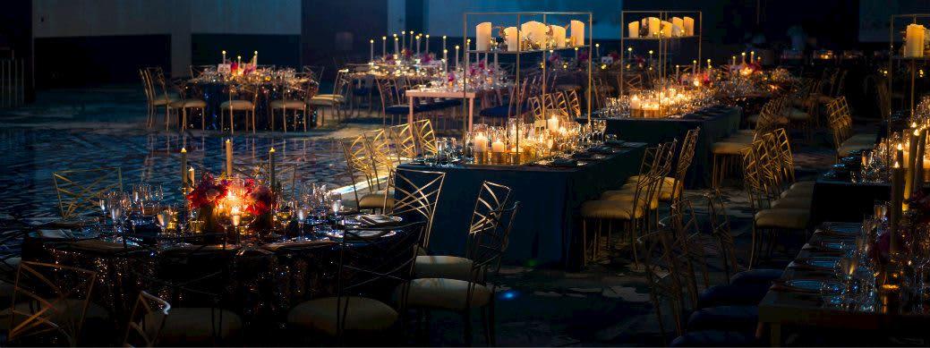 Elegant Grand Ballroom at Grand Velas Los Cabos, Mexico