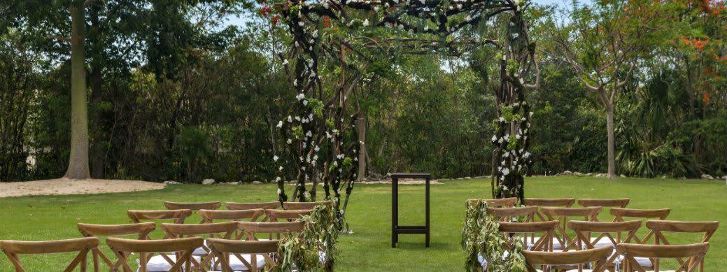 Zen Tropical Garden at Grand Velas Riviera Maya, Mexico