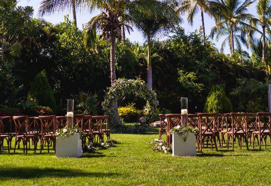 Tropical Botanic Garden at Casa Velas, Mexico