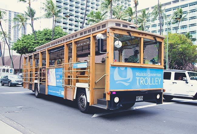 Waikiki Connection Trolley of Honolulu