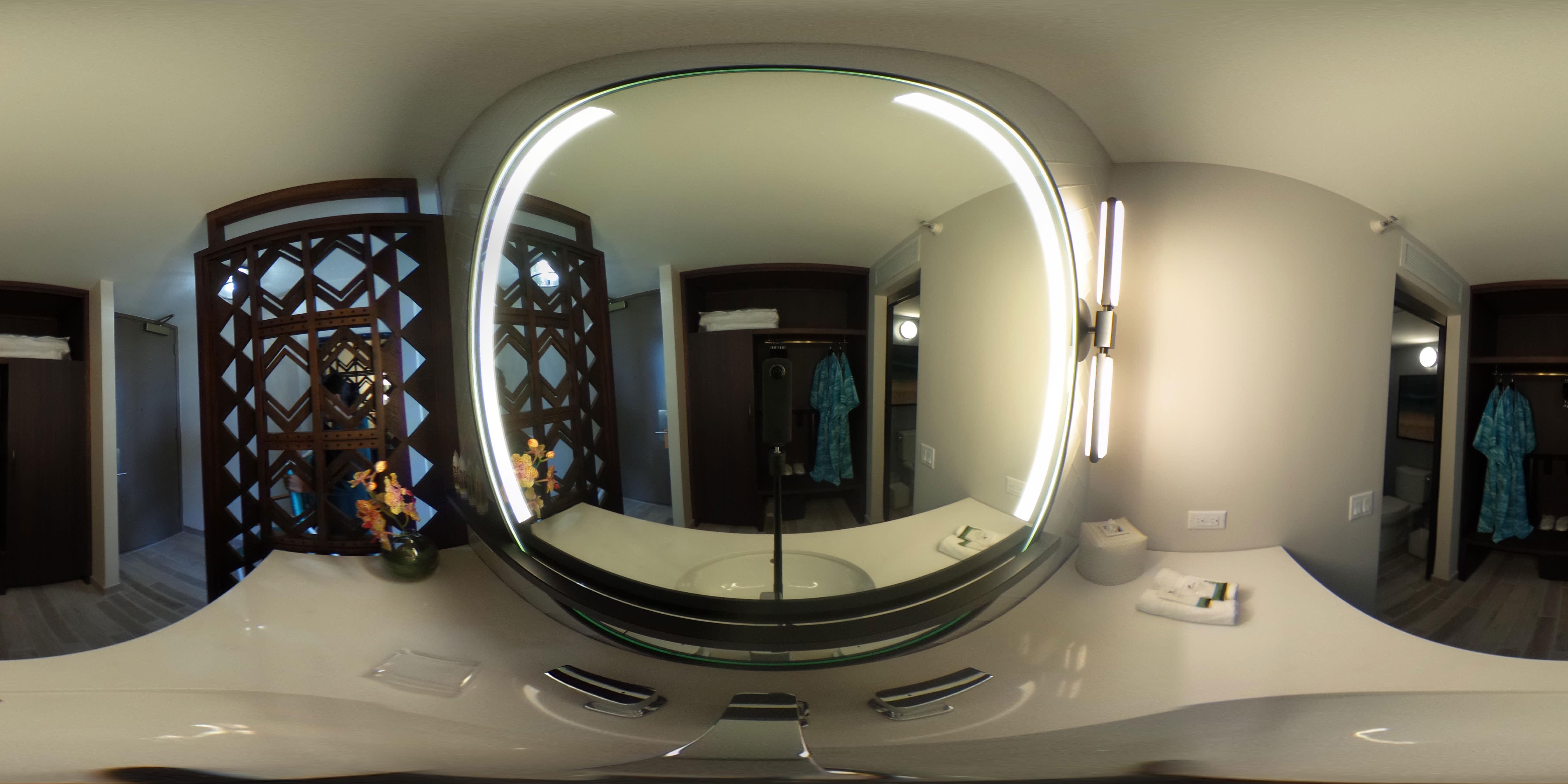 Waikiki Beachcomber by Outrigger Bathroom Mirror