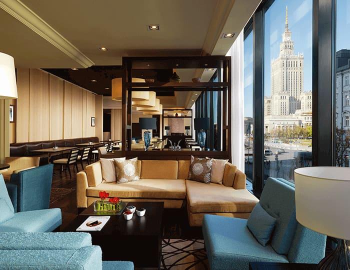 Salonik klubowy dla gości apartamentów