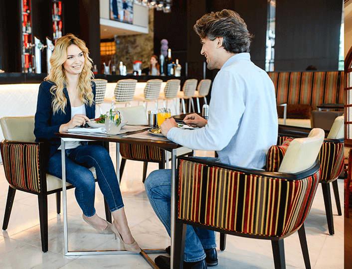 Twoje miejsce na poranną kawę lub lunch biznesowy.