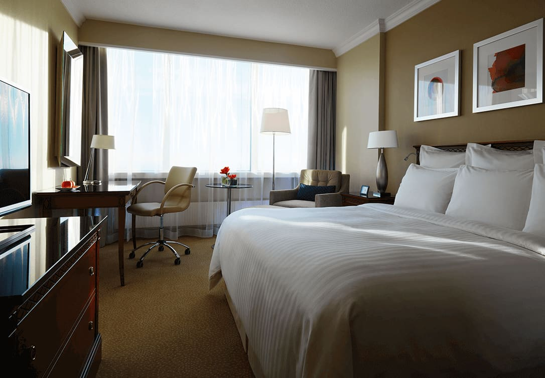 Executive Room w Marriott Warsaw Hotel