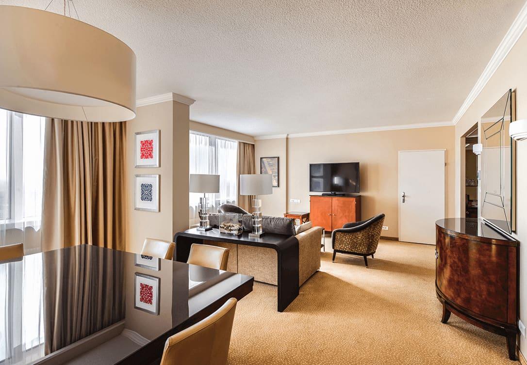 Luxury Suite w Marriott Warsaw Hotel