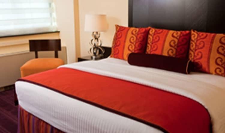 Washington Plaza Hotel, DC Superior King with Balcony