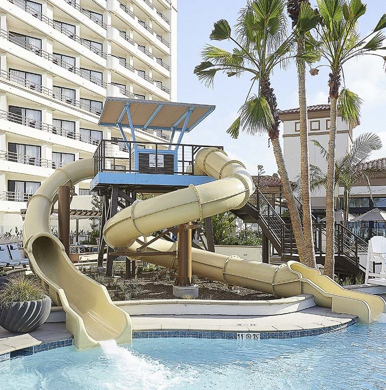 Driftwood Beach Club and Huntington Pool at The Waterfront Beach Resort