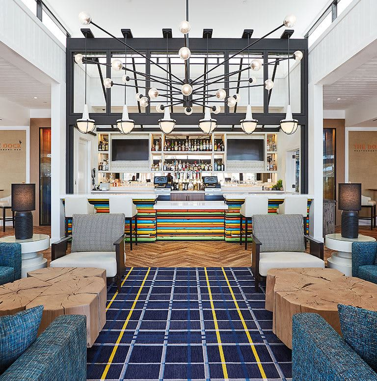 The Waterfront Beach Resort, Huntington Beach The Dock Bar
