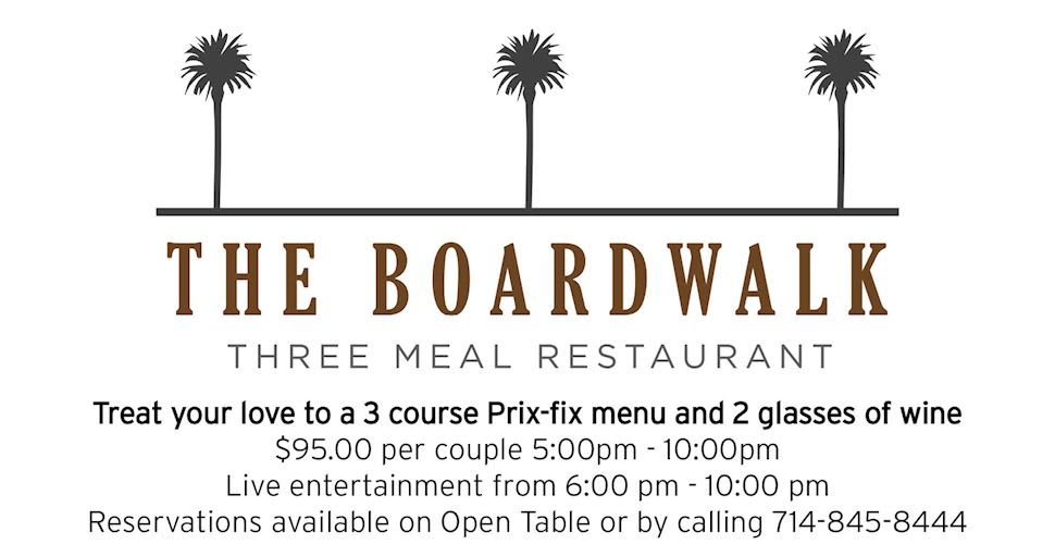 The Boardwalk Restaurant at The Waterfront Beach Resort, Huntington Beach