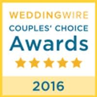 WEDDINGWIRE Couple's Choice Awards 20176