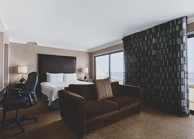 Oceanfront King Room in Waterfront Beach Resort - a Hilton Hotel, Huntington Beach